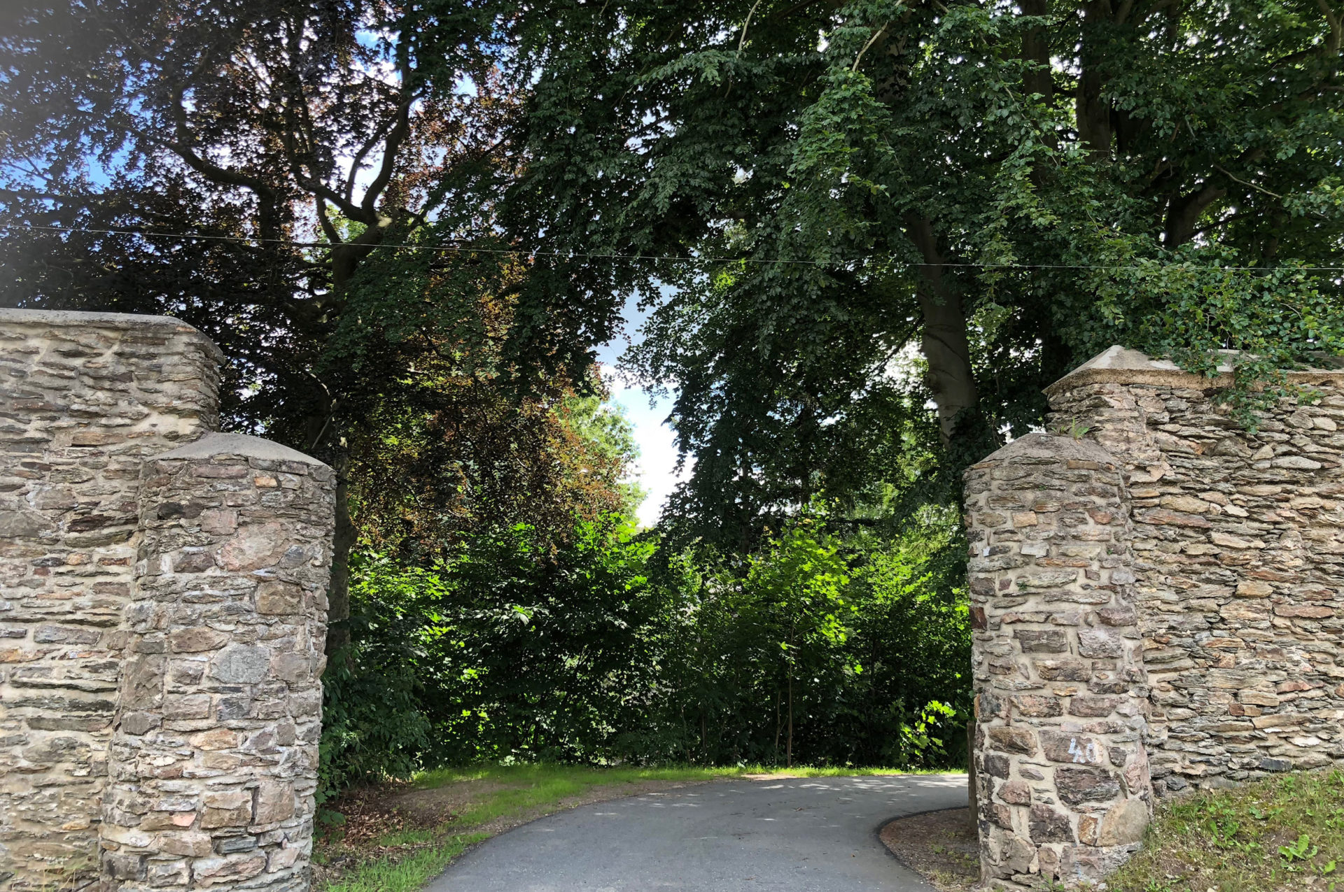 Eingang Kloster Grünhain Beierfeld
