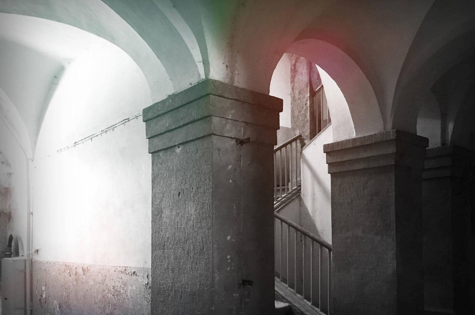altes Gewölbe im Kloster Grünhain Beierfeld