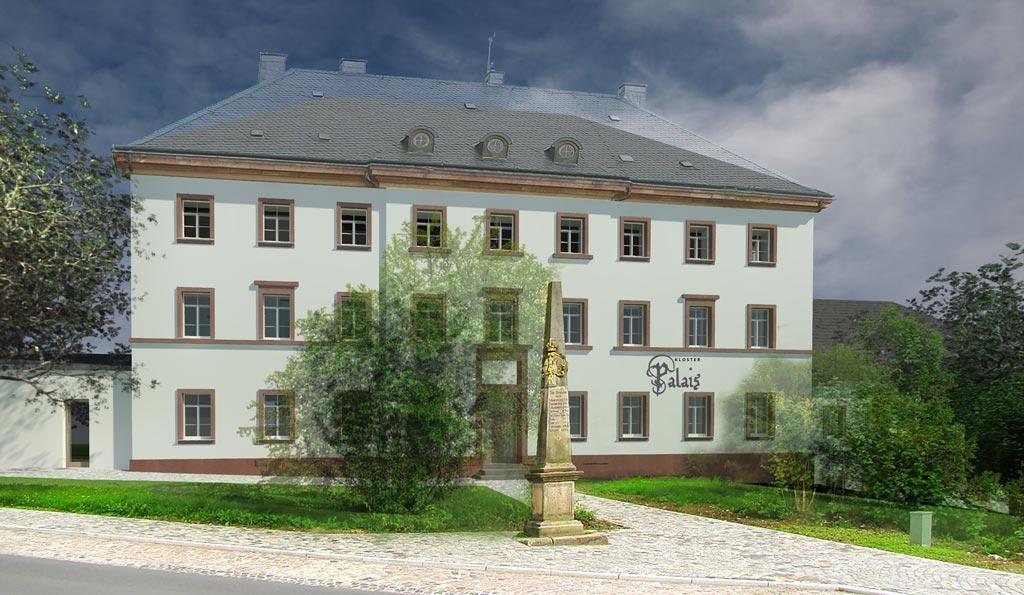 1. Bauabschnitt <span>Klosteramtshaus</span>