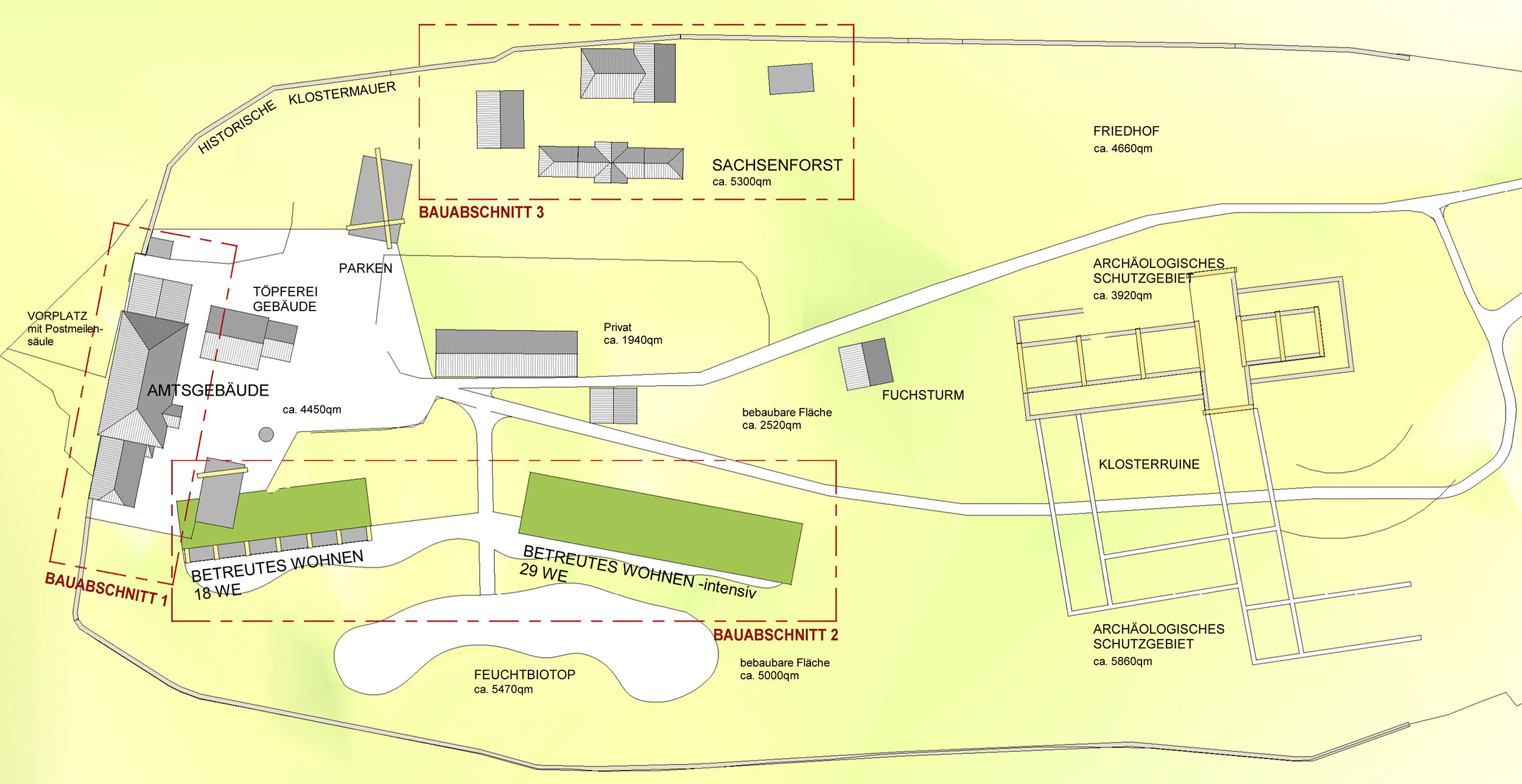 Lageplan Kloster