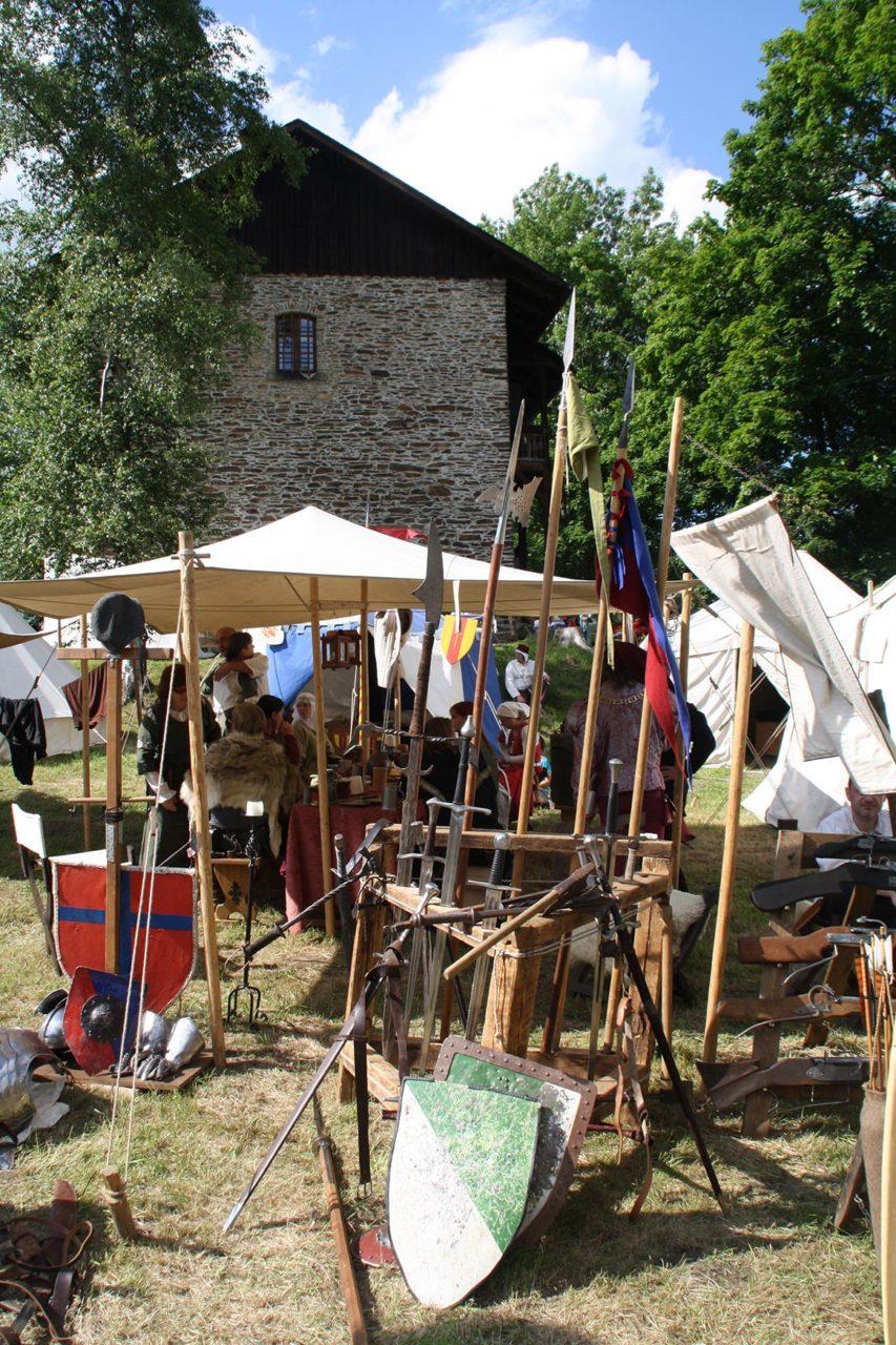 Mittelaltermarkt im Kloster