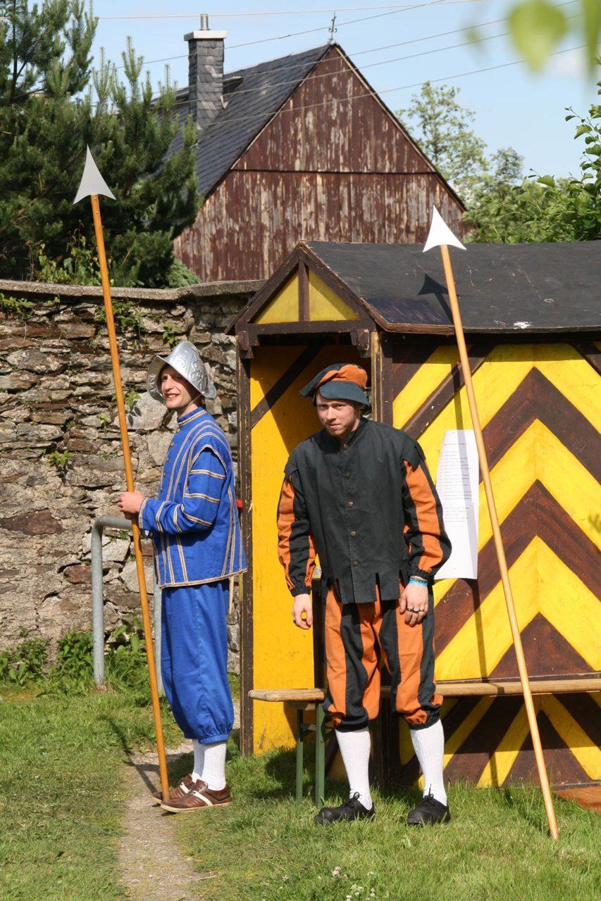 Schaudarsteller zum Klosterfest